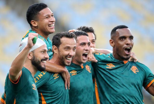 Nene penalty kick gives Fluminense 1-0 win over Bahia