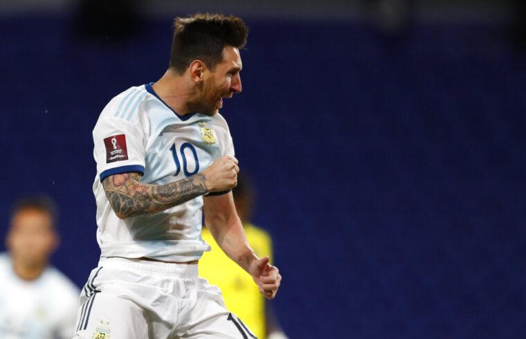 Messi penalty kick gives Argentina winning start over Ecuador