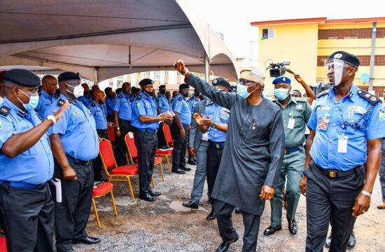 EndSARS: Sanwo-Olu awards scholarship to children of slain policemen