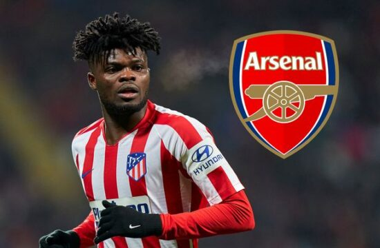 Atletico Madrid confirm sale of Partey to Arsenal