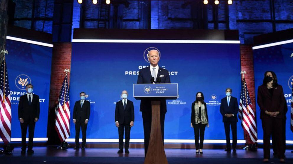 Biden unveils his national security team