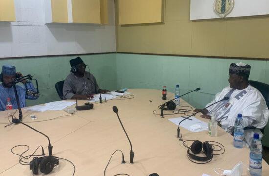 Danbatta on Radio Nigeria, addresses telecoms issues