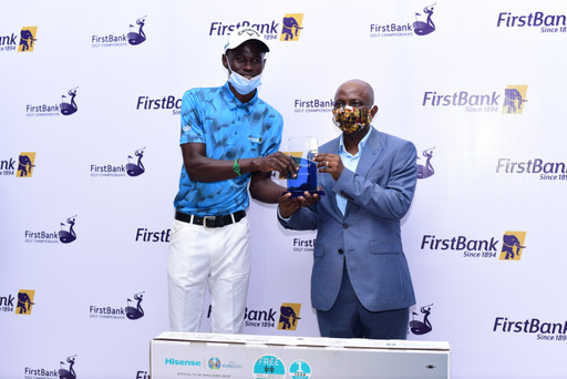 Ajayi wins the 59th FirstBank Lagos open golf championship