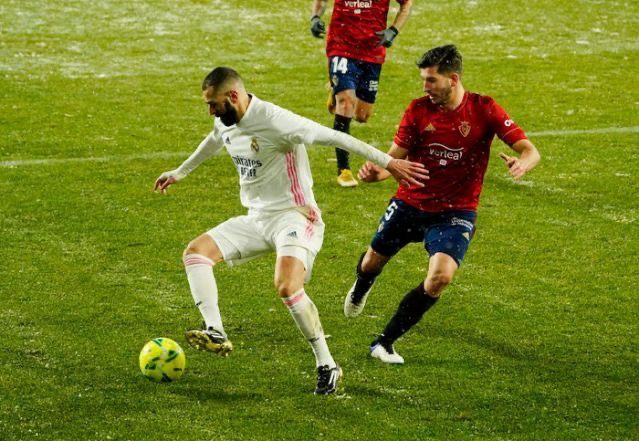Osasuna, freezing conditions frustrate Real Madrid from La Liga top spot